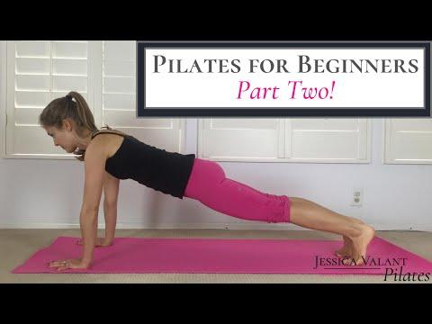 Pilates for Beginners Pilates Exercises for Beginners Part 2!