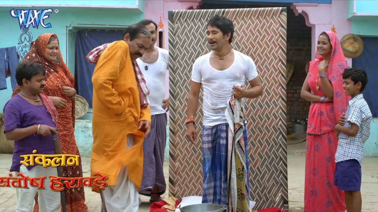 सात करोड़ के सपने पे पानी फिर गया 😂😂 - Nirahua Best Comedy Scane - Raja Babu Movie Scane