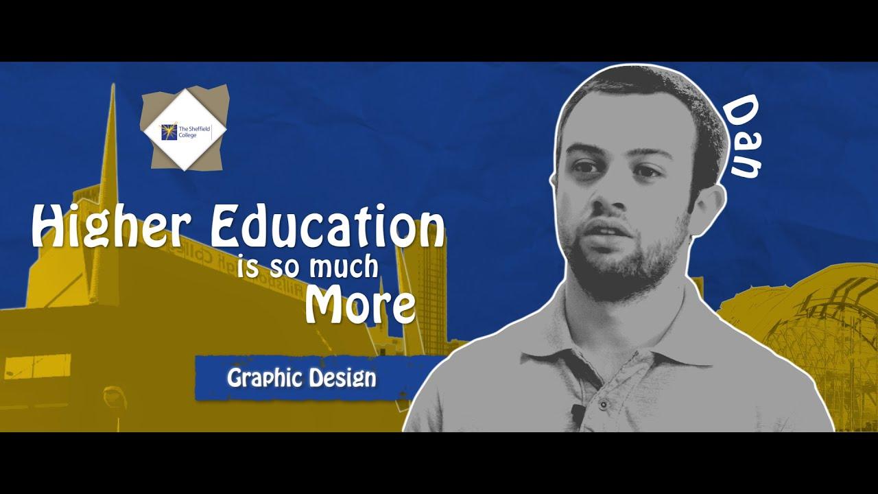 Dan - Sheffield College - Graphic Design