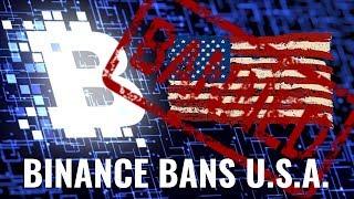 Binance Bans USA Crypto Traders