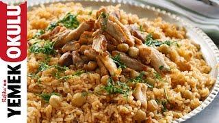 Tavuklu Fındıklı Pilav Tarifi | Düdüklü Tarifler
