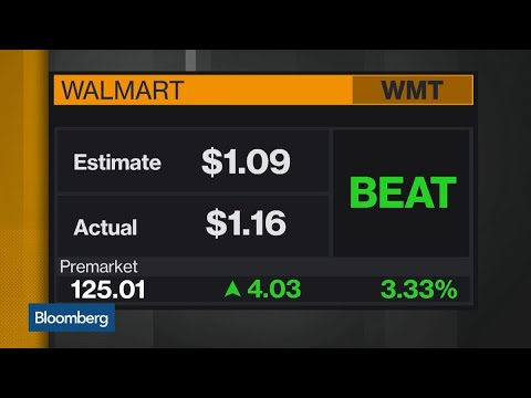 Walmart Raises Earnings Outlook on Strong Quarter