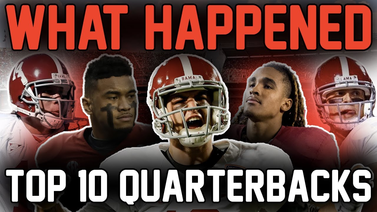What Happened to the TOP 10 Alabama QBs EVER? (Where Are They Now?)