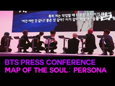 """[ENGLISH SUB FULL VER.] BTS press conference """"Map of the Soul: Persona"""""""