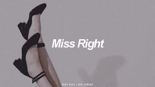 Miss Right | BTS (방탄소년단) English Lyrics