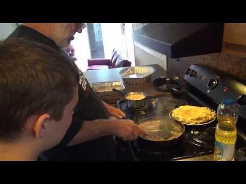 Cooking for Kids - Breakfast Lasagna