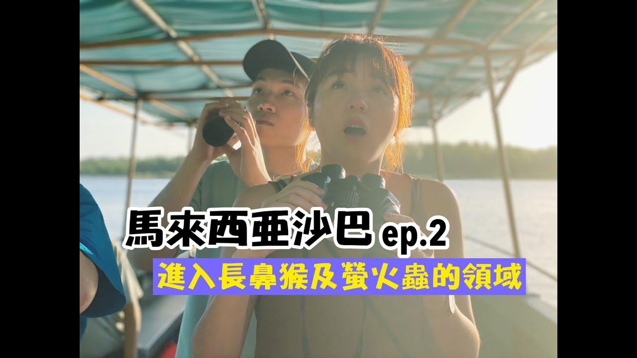 【馬來西亞沙巴系列ep.2】進入長鼻猴及螢火蟲的領域!