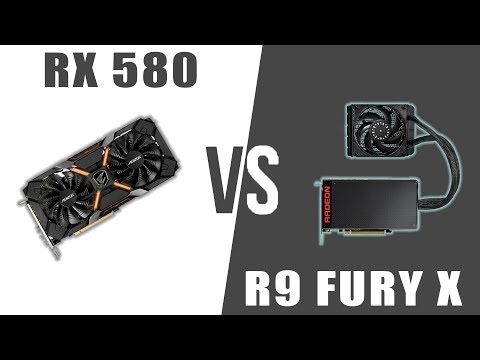 RX 580 vs R9 Fury X || 1080p and 1440p Benchmarks