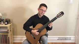 Lesson: Alignment Exercises for the Left Hand on Classical Guitar