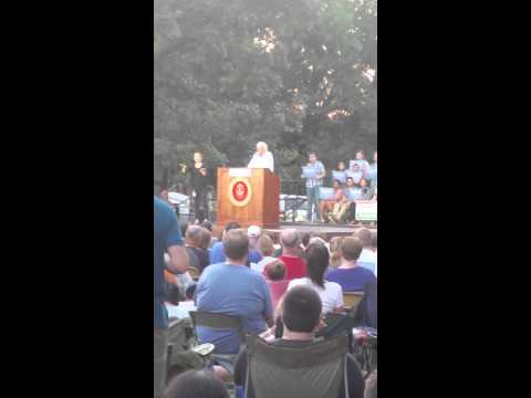 Bernie Sanders rally, Cedar Rapids Iowa 9/4/15