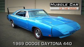 Muscle Car Of The Week Video Episode #166:  1969 Dodge Daytona 440