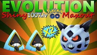 Two 100% Shiny Snorunt Evolution & Maxout in PokemonGo