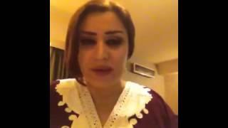 الفنانة الاء حسين و مشكلة الفيس بك 2012