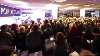 Franz Ferdinand Play Pop Recs, Sunderland (Timelapse)