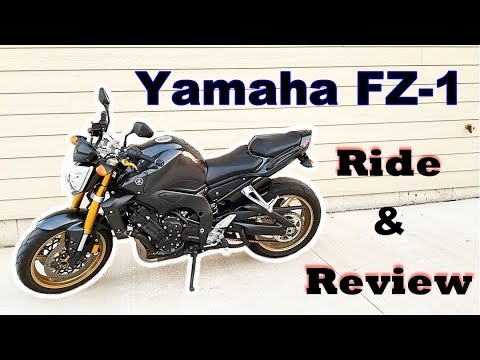 Yamaha FZ1 - Let's Ride and Review! - YouTube