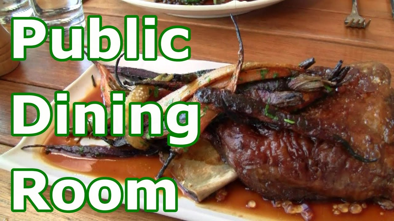 Balmoral public dining room