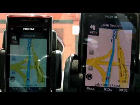 Ovi Maps Review: Nokia N8 vs Nokia X6