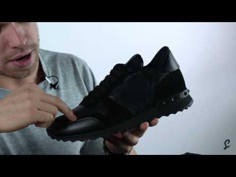 Valentino Rockrunner Triple Black Premium Unboxing