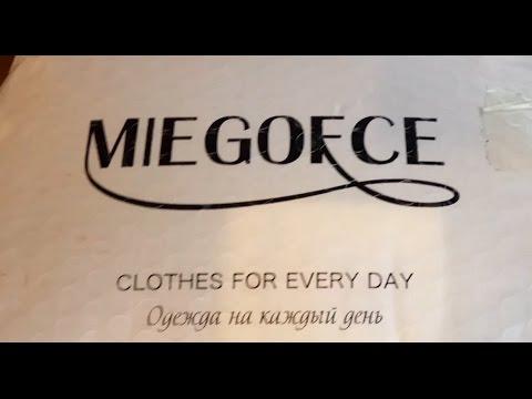 видео: miegofce пуховик с aliexspress . Покупать или нет !