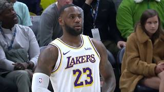 Utah Jazz vs. Los Angeles Lakers | December 4, 2019