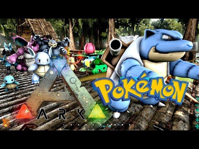ARK Pokemon Evolved《方舟: 寵物精靈模組》 - 抓精靈啦還抓什麽恐龍!