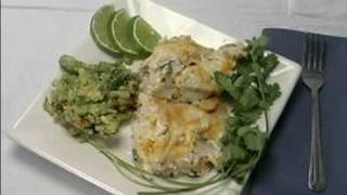 Chicken Casserole With Guacamole Recipe : How To Serve Chicken Casserole With Guacamole