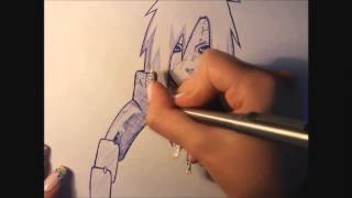 drawing Madara Uchiha sketch