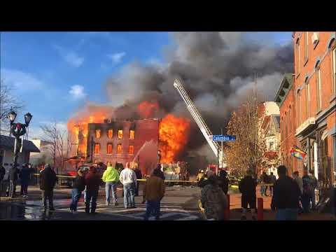 Cohoes, NY Fire November 30, 2017