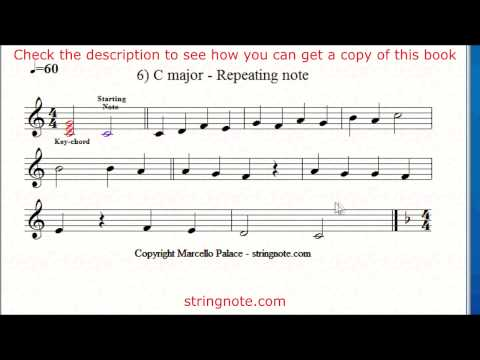 Learn to sing notes on a music sheet Grade 3