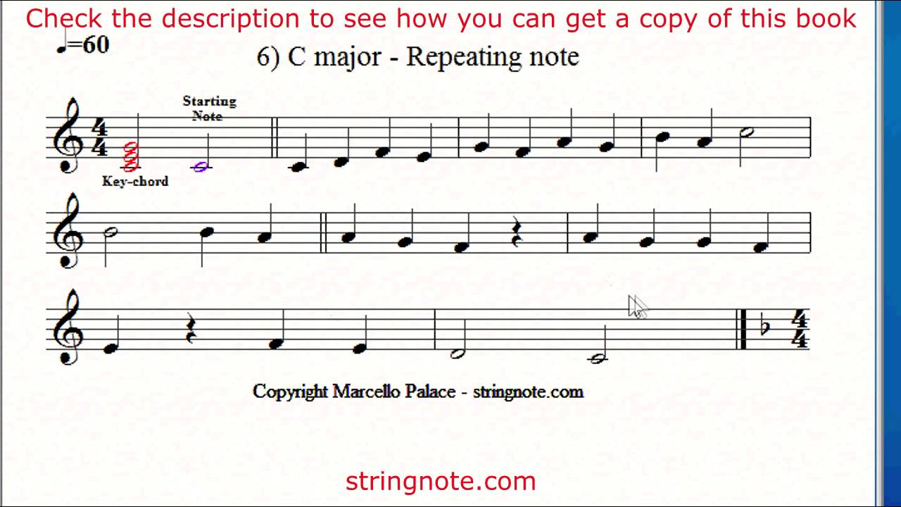 Learn to sing notes on a music sheet Grade 3 - YouTube
