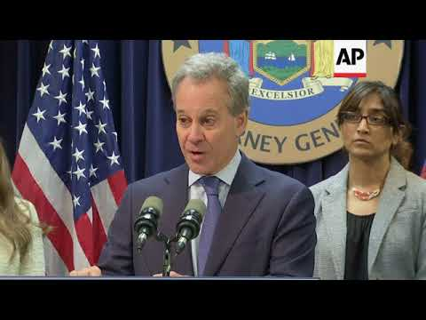 NY AG says Weinstein Co. Covered Up Abuses