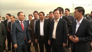 Phó Thủ tướng Trịnh Đình Dũng kiểm tra công trình trọng điểm và làm việc với TP Hải Phòng