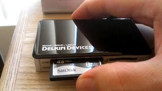 Recovering Lost or Damaged Digital Photos from SD Cards (or Compact Flash)