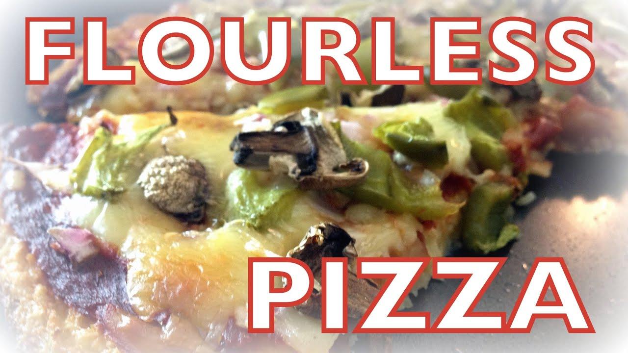 Flourless Pizza Recipe - first episode of Cheap Clean Eats