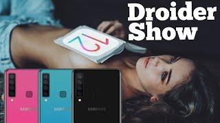 Samsung с 4-мя камерами, ставить ли iOS12 и браслет Xiaomi c ЭКГ | Droider Show #384
