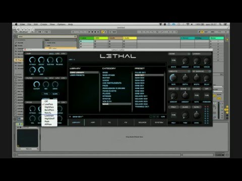 Demonstração & Review: LETHAL By Lethal Audio (VST/AU/AAX)