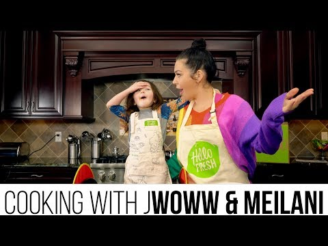 COOKING WITH JWOWW & MEILANI: PASTA PARMESAN