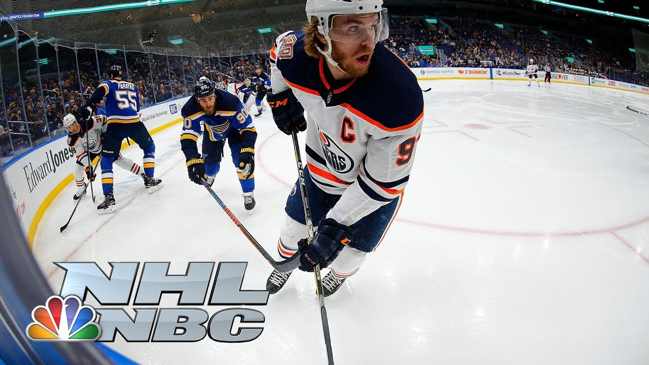 Connor McDavid scores game-winner in shootout for Oilers I NHL I NBC Sports
