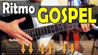 Aula de RITMO para Violão GOSPEL fácil - 8 músicas como exemplo