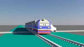 Mô phỏng 3D vụ tai nạn đường sắt tại Nam Định ngày 04-02-2017