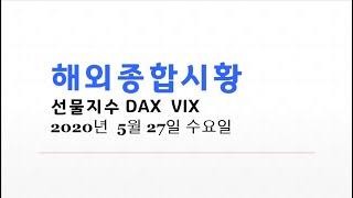 긴급해외종합시황 [danger c파동]다우선물 VIX …