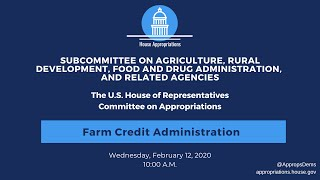 Farm Credit Administration (EventID=110473)