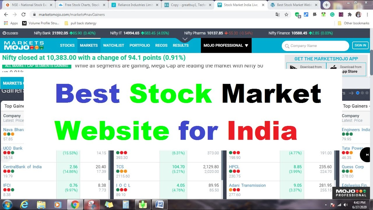 Best Stock Market Website for India in 2020 Tamil| INTRADAY GUIDE