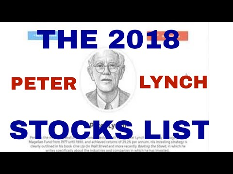 The 2018 Peter Lynch Stocks List: How to Find Great Stocks to Buy Today