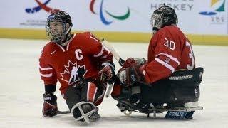 Highlights Canada v Russia - 2013 IPC Ice Sledge Hockey World Championships A-Pool