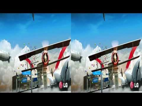 LG 3D Demo - Cinema 3D World I - 3D Side by Side (SBS)