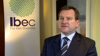 Danny McCoy CEO Ibec, talks to The Irish Independent