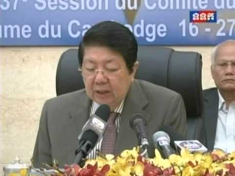 DPM Sok An Press Conference   A 10th Century Khmer Ancient Statue to Return Home