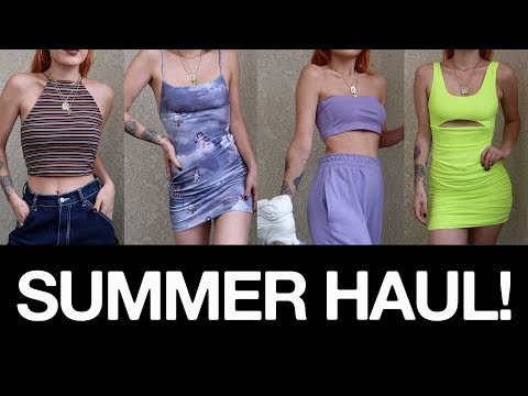 Summer 2019 haul - Dolls Kill, Motel Rocks, Missguided and more!