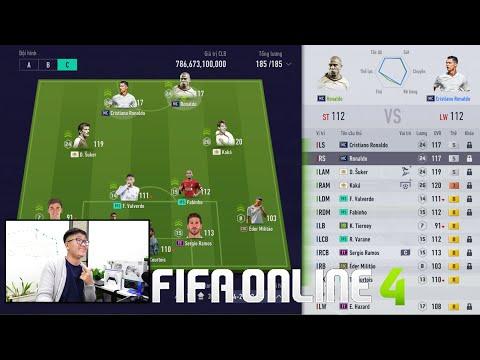 FIFA ONLINE 4: Trải Nghiệm Ronaldo Béo MC & C. Ronaldo MC +5 & Top Tiền Đạo KHỦNG - Shoptaycam.com